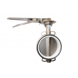 válvula borboleta de aço inox