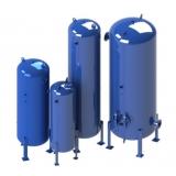 reservatório de ar comprimido para compressor Sergipe