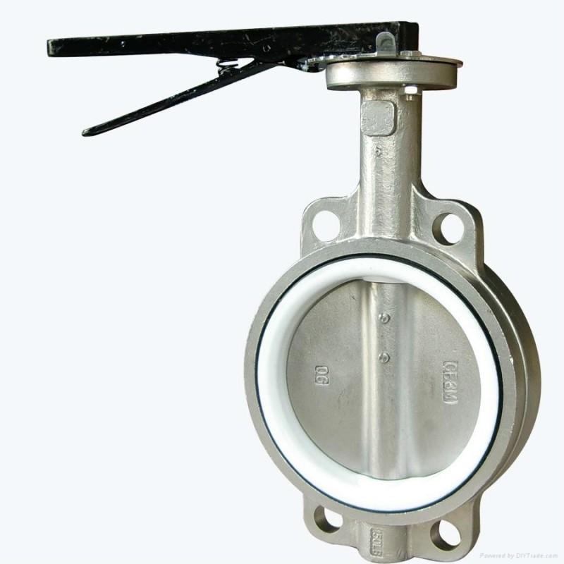 Válvula Borboleta de Aço Inox São Luís - Válvula Borboleta com Atuador