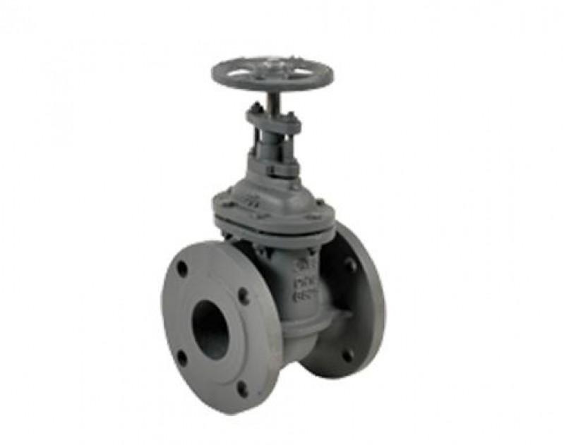 Válvula de Bloqueio Tipo Gaveta Barata Alagoas - Válvula Gaveta de Aço Inox